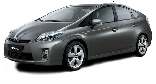 Toyota Prius Abu-Abu