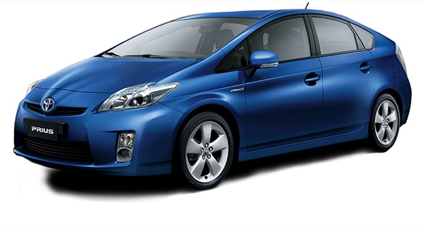 Toyota Prius Biru