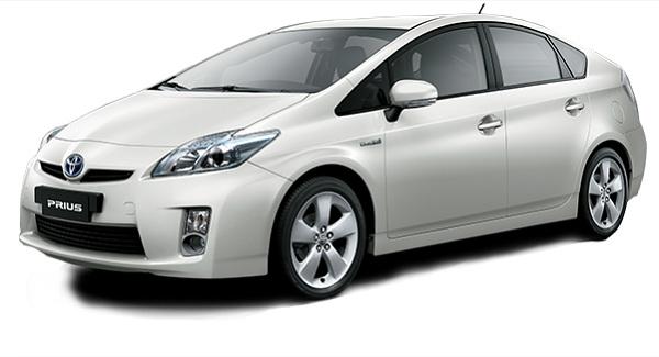 Toyota Prius Putih