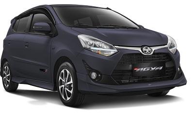 Toyota New Agya Abu-Abu