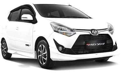 Toyota New Agya Putih