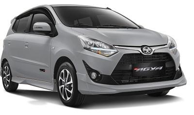 Toyota New Agya Silver