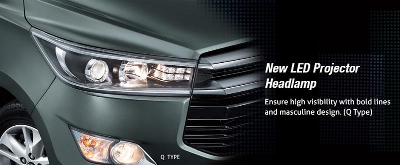 Exterior Toyota All New Kijang Innova
