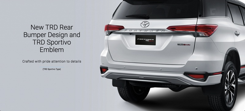 Exterior Toyota New Fortuner 4