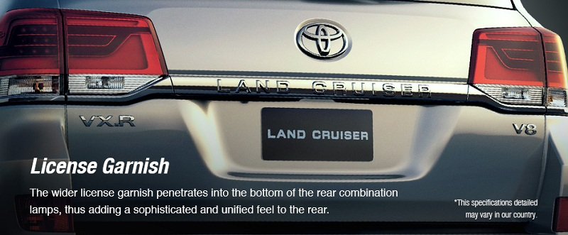Exterior Toyota New Land Cruiser 4