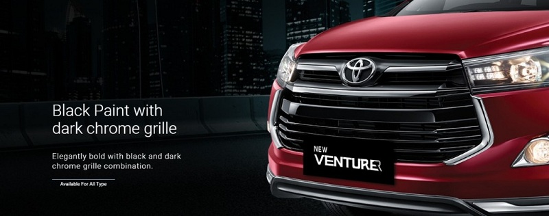 Exterior Toyota Venturer
