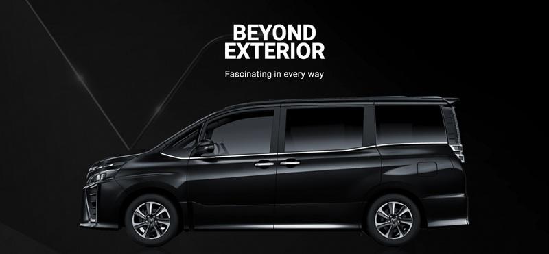Exterior Toyota Voxy 2