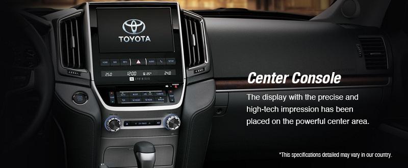 Interior Toyota New Land Cruiser