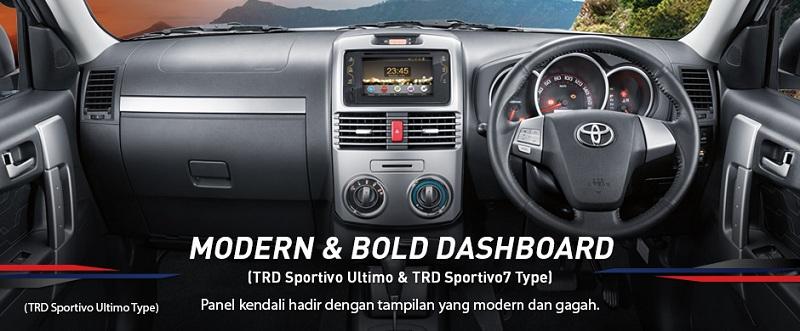 Interior Toyota New Rush