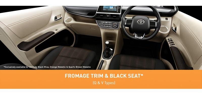Interior Toyota Sienta 2