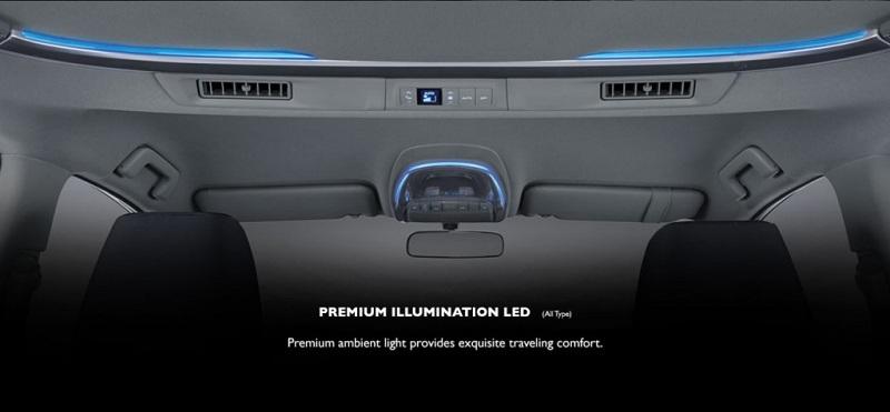 Interior Toyota Venturer 2