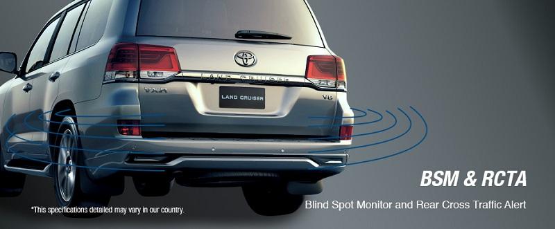 Safety Toyota New Land Cruiser 2