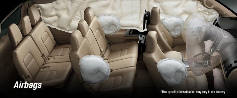 Safety Toyota New Land Cruiser