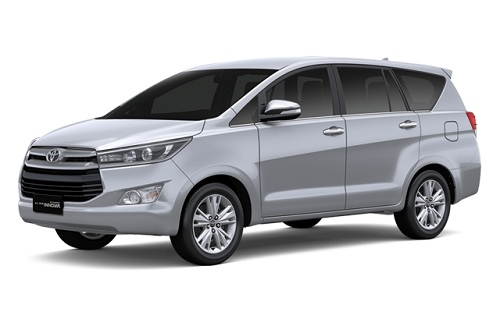 Toyota All New Kijang Innova Silver