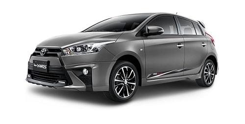 Toyota All New Yaris Abu-Abu
