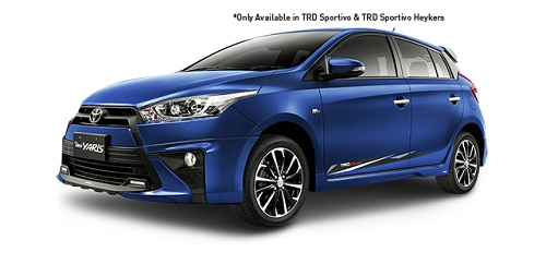 Toyota All New Yaris Biru