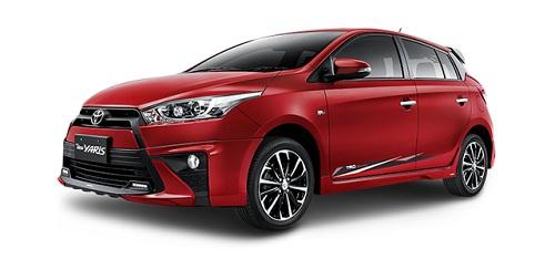 Toyota All New Yaris Merah