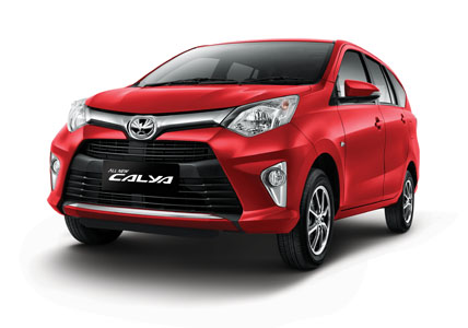 Toyota Calya Merah