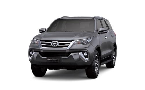 Toyota New Fortuner Abu-Abu