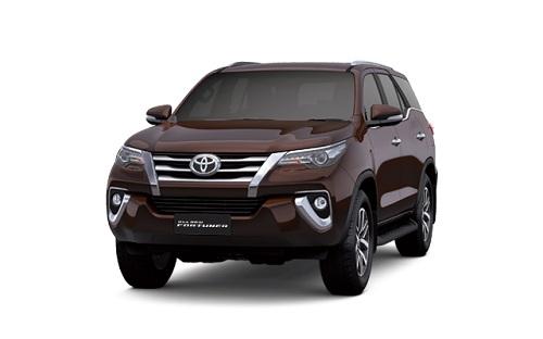 Toyota New Fortuner Cokelat
