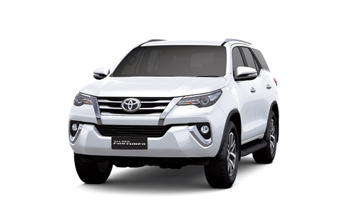 Toyota New Fortuner Putih