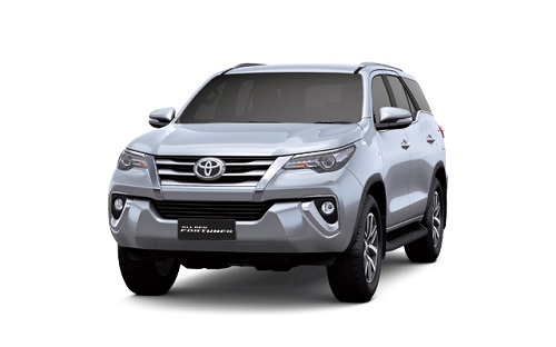 Toyota New Fortuner Silver