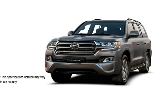 Toyota New Land Cruiser Abu-Abu