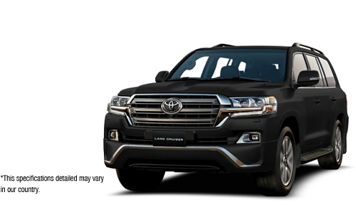 Toyota New Land Cruiser Hitam