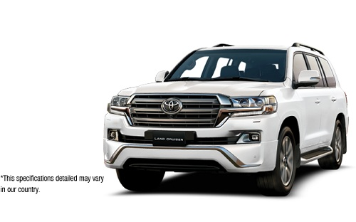 Toyota New Land Cruiser Putih 2