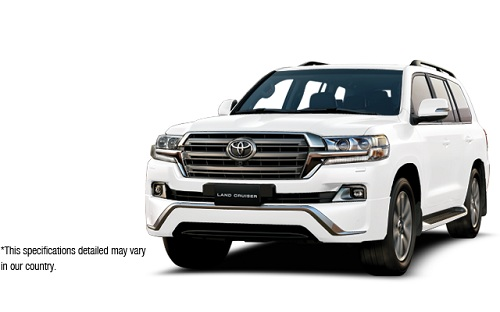 Toyota New Land Cruiser Putih