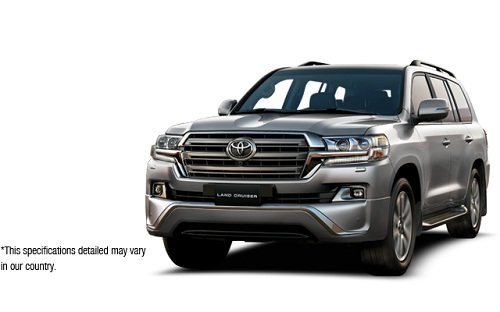 Toyota New Land Cruiser Silver