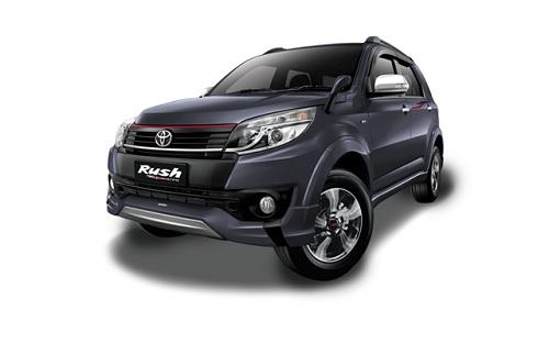 Toyota New Rush Abu-Abu