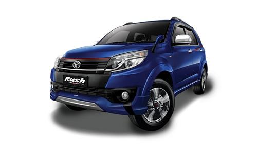 Toyota New Rush Biru