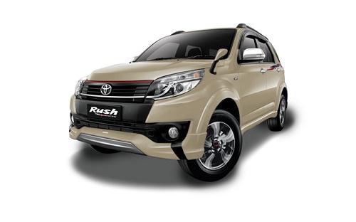Toyota New Rush Champagne