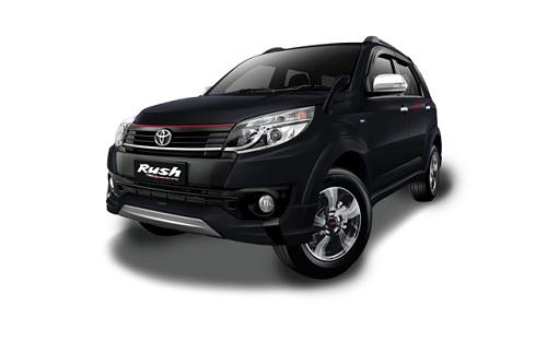 Toyota New Rush Hitam