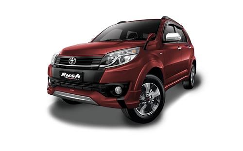 Toyota New Rush Merah