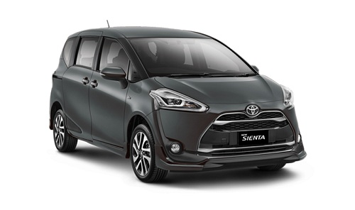 Toyota Sienta Abu-Abu