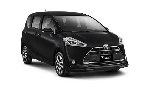 Toyota Sienta Hitam