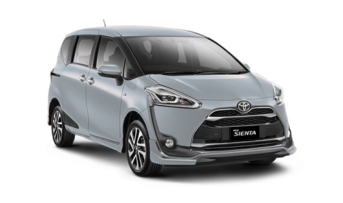 Toyota Sienta Silver