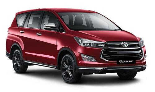 Toyota Venturer Merah