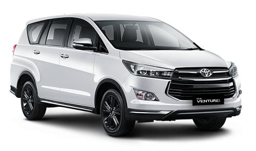 Toyota Venturer Putih
