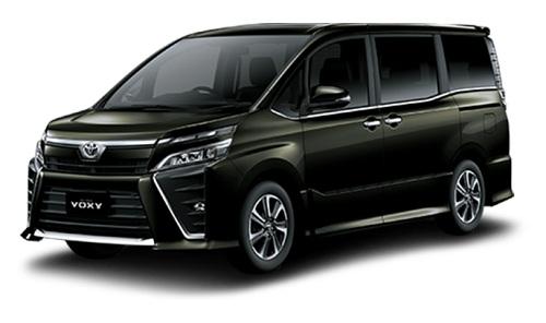 Toyota Voxy Hitam 2