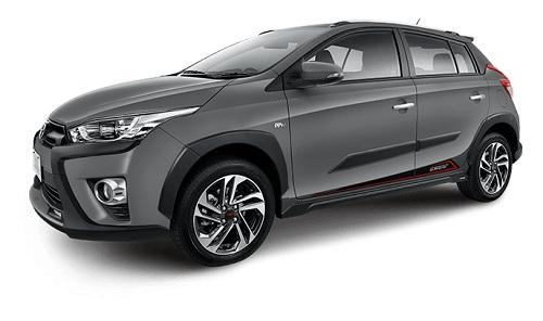 Toyota Yaris Heykers Abu-Abu