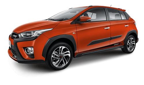 Toyota Yaris Heykers Orange