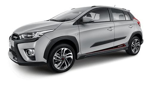 Toyota Yaris Heykers Silver