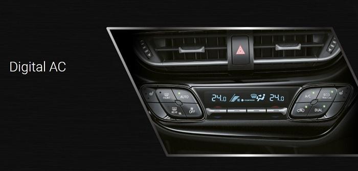 Interior Toyota CH-R 3