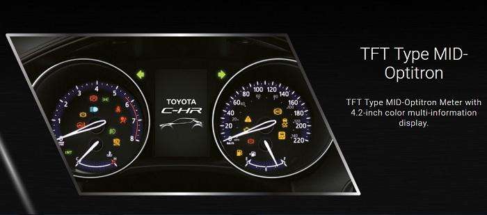 Interior Toyota CH-R 4