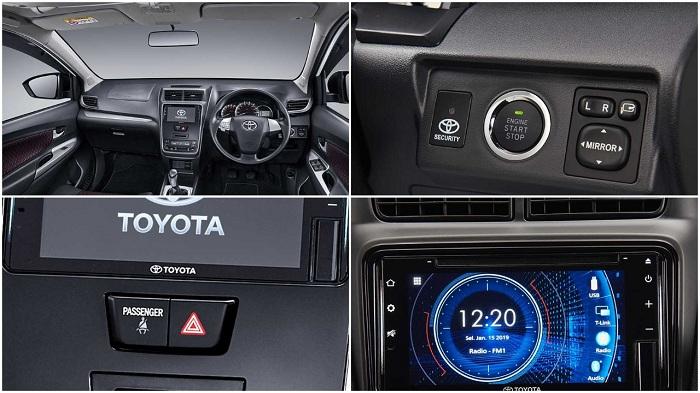 Interior Toyota Veloz