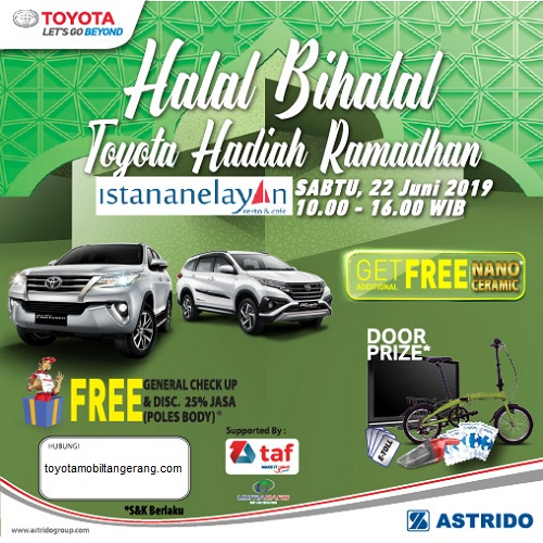 Promo Toyota Tangerang Hadiah Ramadhan
