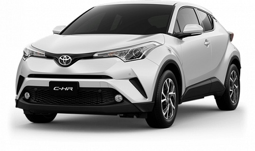 Toyota CH-R Putih